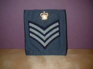 R A F flight sergeant